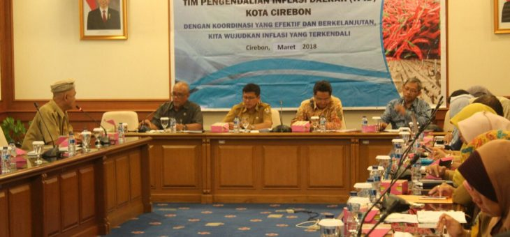 Pemda Kota Cirebon Dukung Program Pengendalian Inflasi