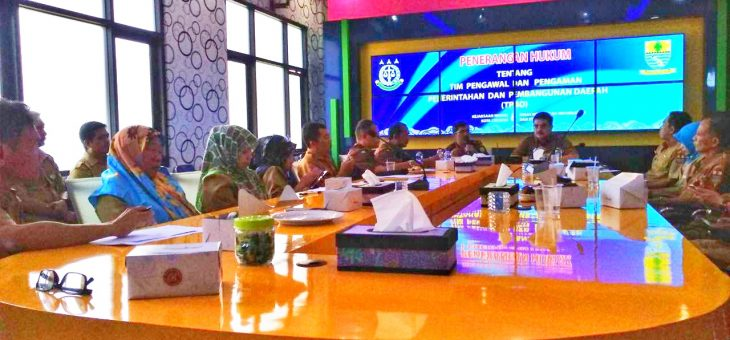 Tindak Lanjut MOU, DKIS Mendapat Sosialisasi Hukum Tentang TP4D