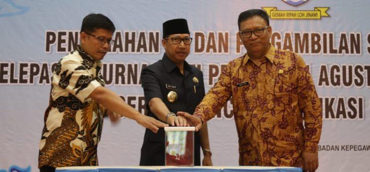 Pemda Kota Cirebon Launching Aplikasi Sampean dan Website Smart City